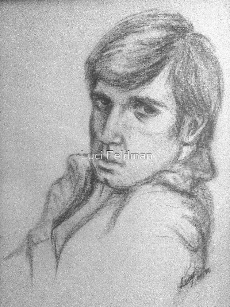 Portrait of Mike  by Luci Feldman