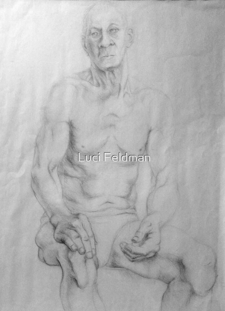 Elderly Model by Luci Feldman
