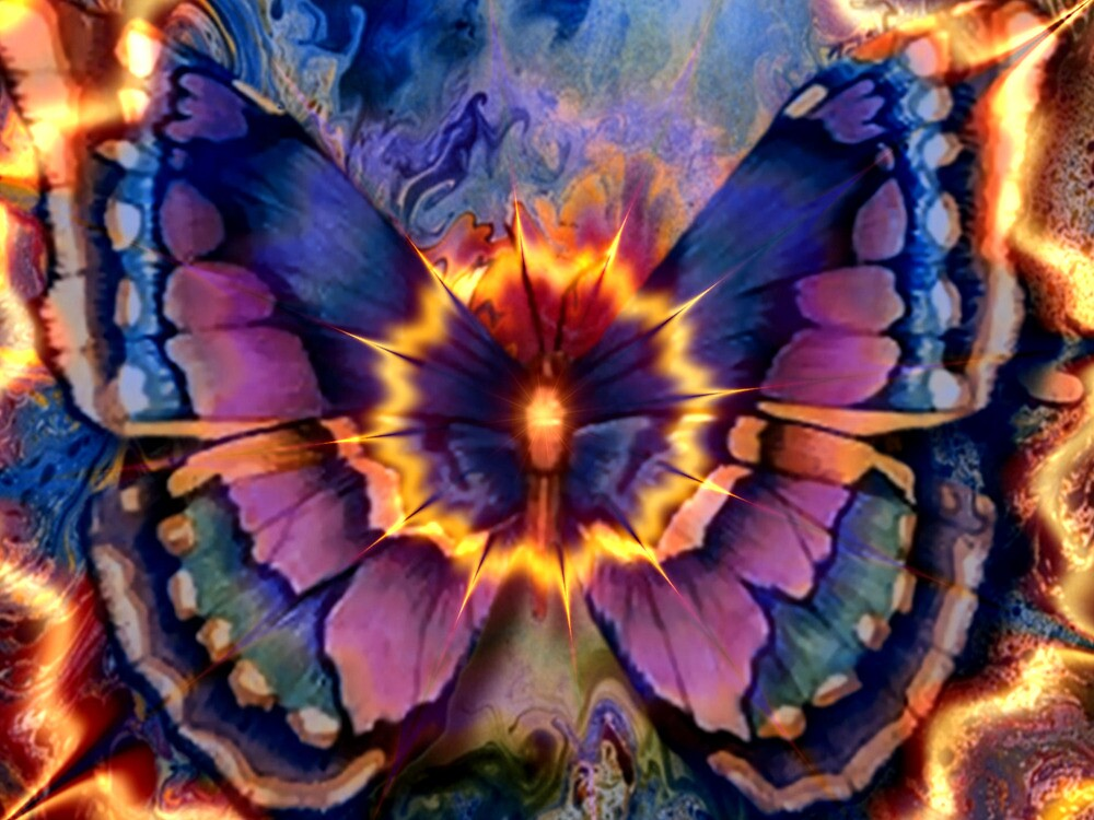 Celestial Butterfly by Brian Exton