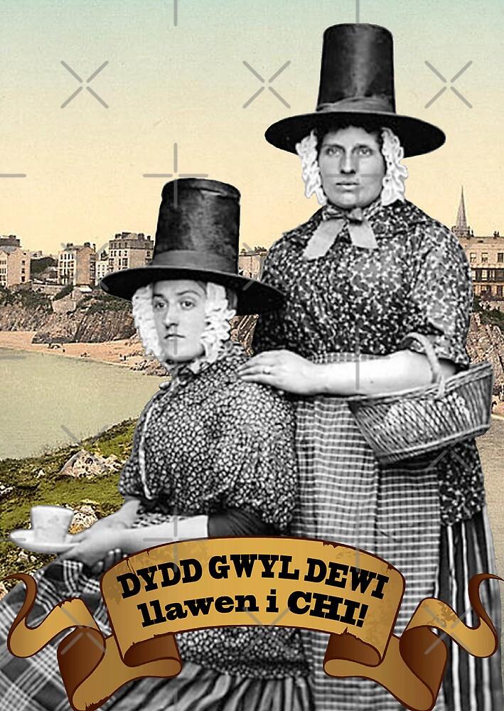 Dydd Gwyl Dewi Llawen i Chi! by Hywel Edwards