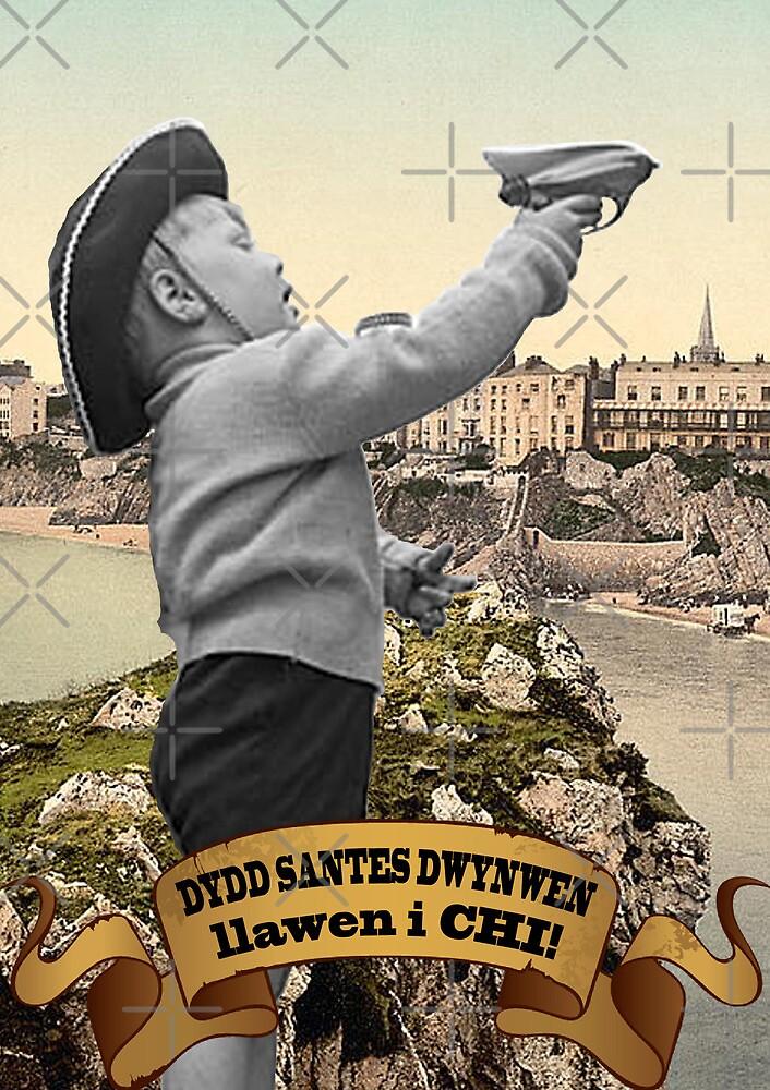 Dydd Santes Dwynwen Llawen i Chi! by Hywel Edwards