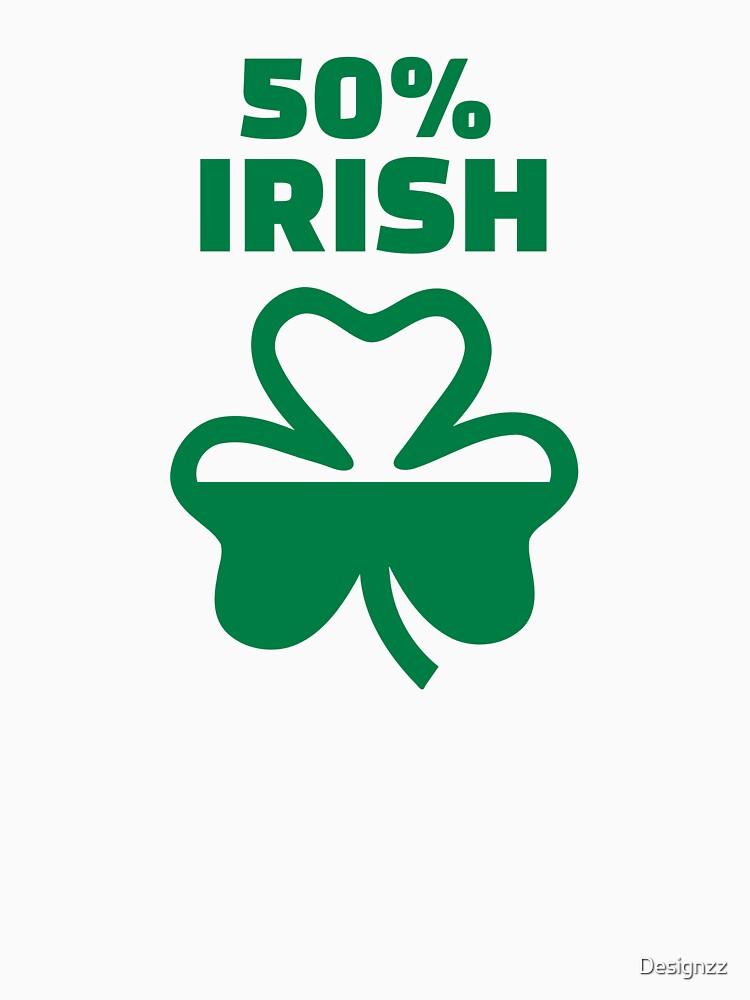 50% Irish shamrock by Designzz