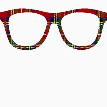 Tartan Geek Glasses by thecatswhisper