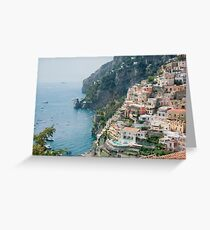 Italy. Amalfi Coastline Greeting Card
