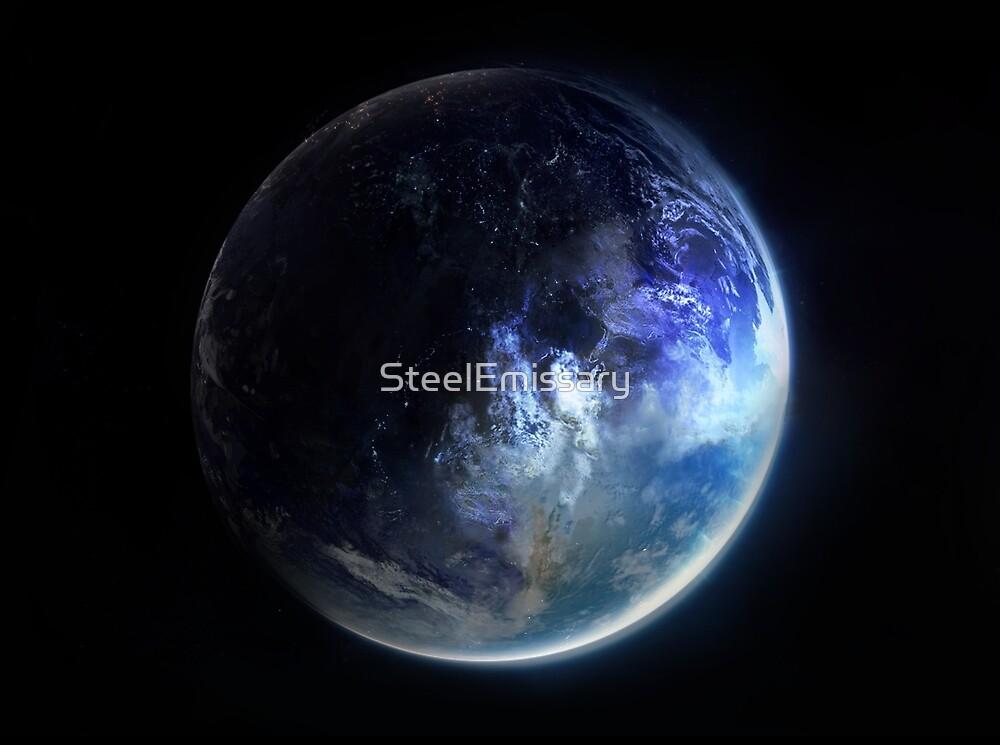 Aquamarine Marble by SteelEmissary