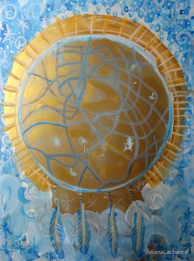 Golden Dreams Catcher.  by JulianaLachance