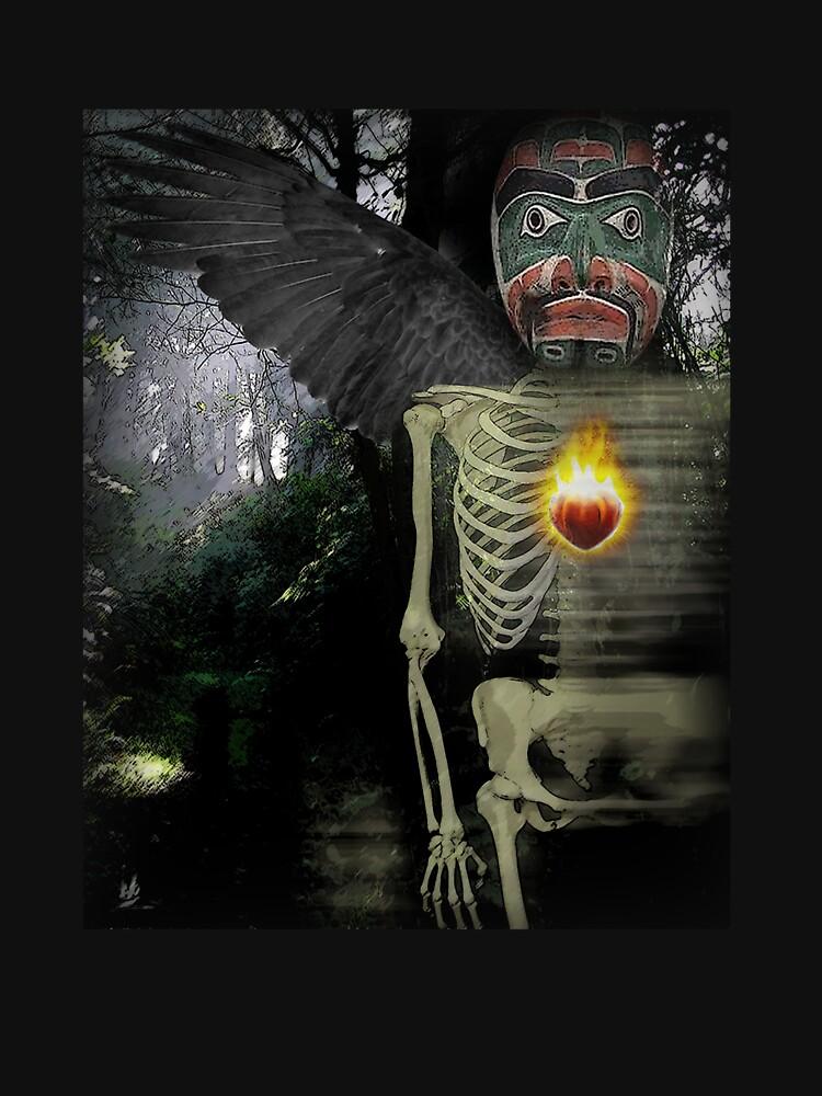 crow bruxo by arteology