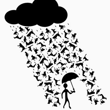 Raining Cats and Dogs by thecatswhisper