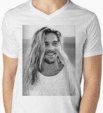 Brad Pitt Men's V-Neck T-Shirt