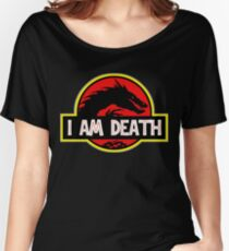 Smaug - I Am Death T-Shirt Women's Relaxed Fit T-Shirt