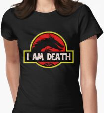 Smaug - I Am Death T-Shirt Women's Fitted T-Shirt