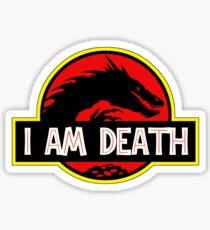 Smaug - I Am Death T-Shirt Sticker