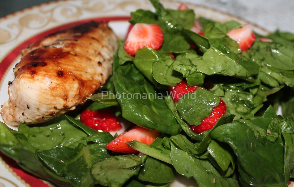 Spinach Salad by Katherine Hartlef