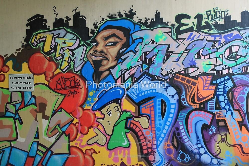 Leverkusen Graffiti by Katherine Hartlef