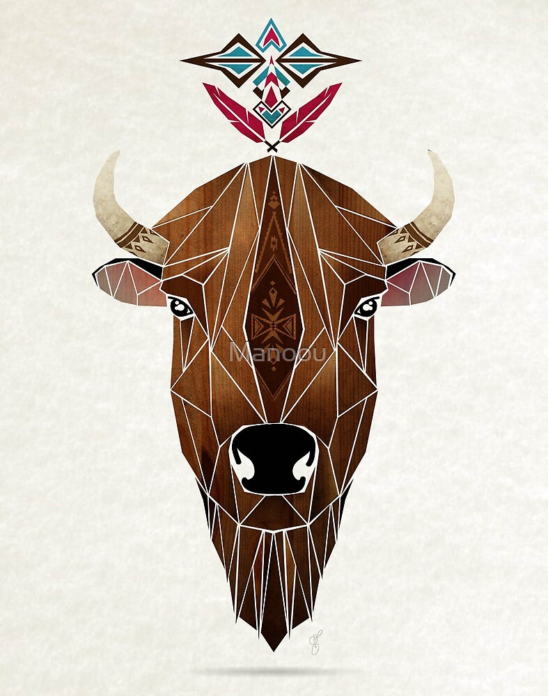 bison by Manoou