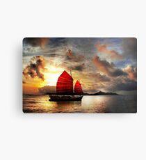 Slow Boat to China Metal Print