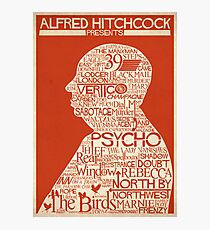 Alfred Hitchcock Presents... Photographic Print