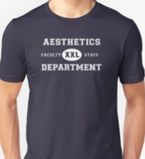 Aesthetics Department - White T-Shirt