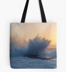 Spectacular Sunset Splash! Tote Bag