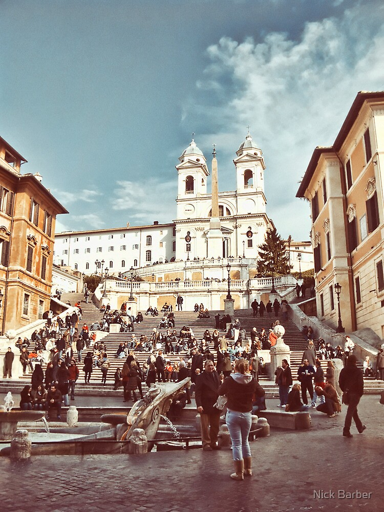 Spanish Steps by Nick Barber