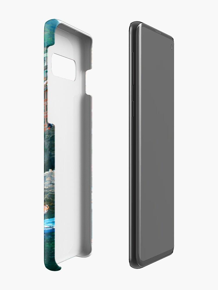 ITALY CINQUE TERRE MARINA iphone case