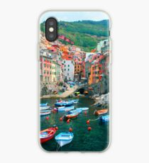 Italy. Cinque Terre marina  iPhone-Hülle & Cover