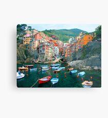 Italy. Cinque Terre marina  Metal Print
