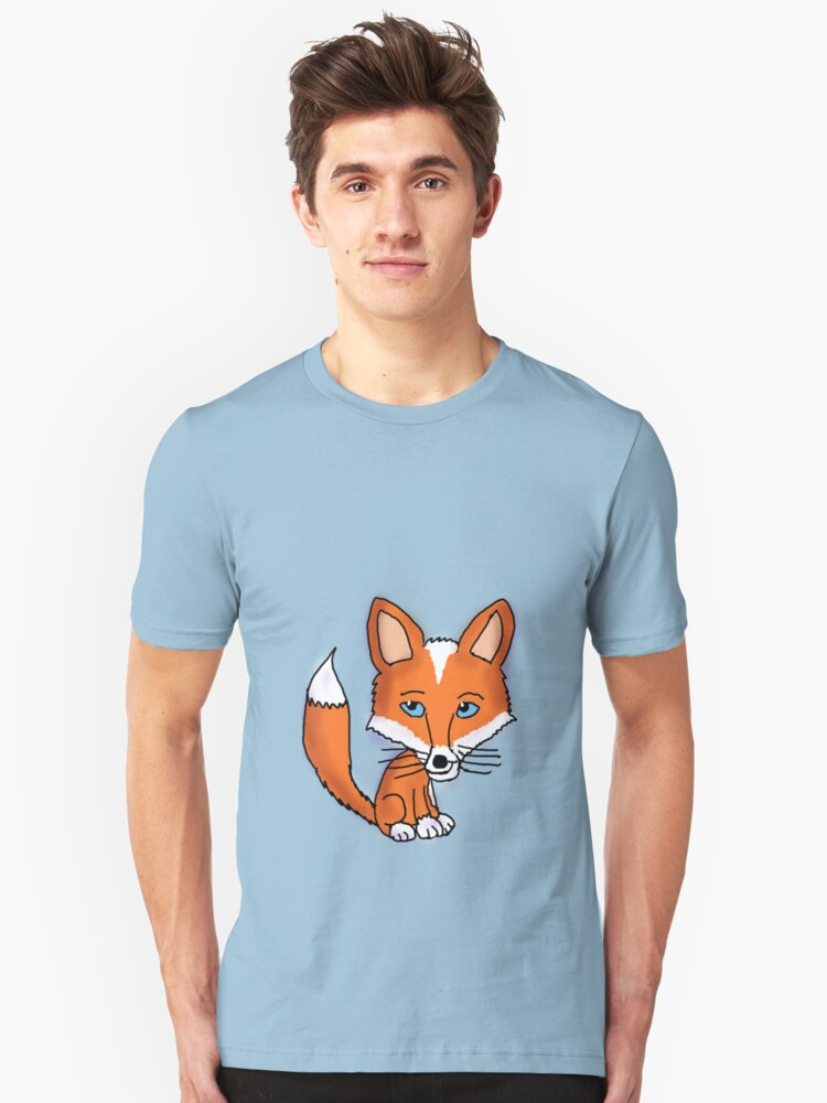 Red Fox  Unisex T-Shirt Front