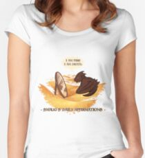 Smaug's Daily Affirmations Women's Fitted Scoop T-Shirt