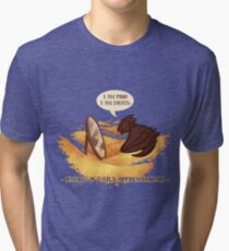 Smaug's Daily Affirmations Tri-blend T-Shirt