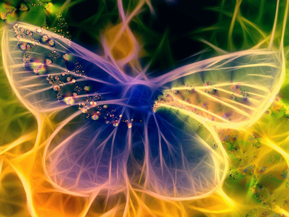 Spirit of a Butterfly by Brian Exton