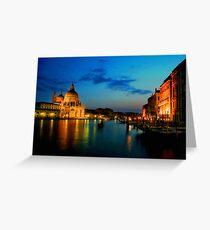 Italy. Venice celebration Greeting Card
