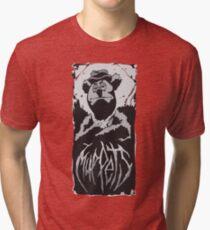 Death Metal Fozzie Muppets Tri-blend T-Shirt
