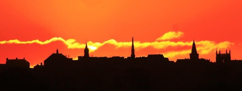 Dunfermline TownScape by artbyjackpaton