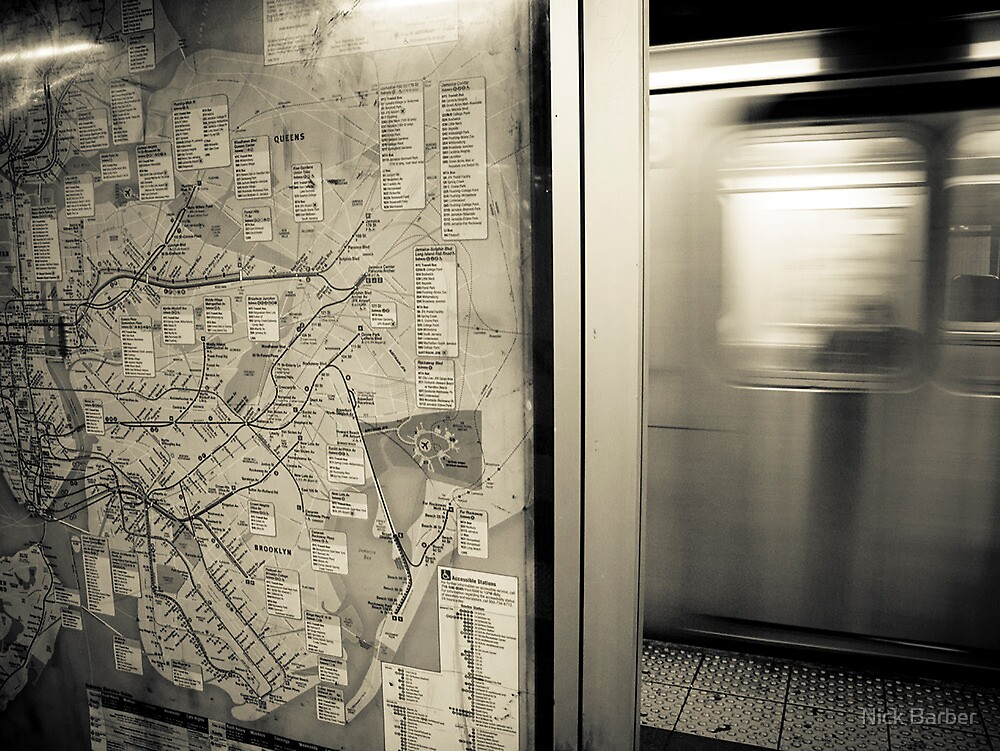Subway Train by Nick Barber