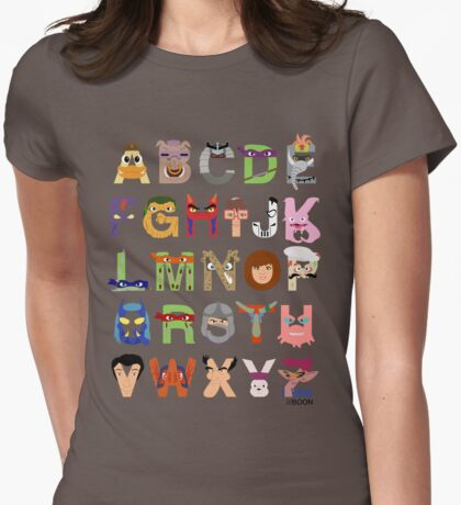Teenage Mutant Ninja Turtle Alphabet T-Shirt