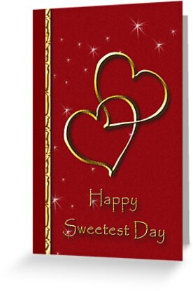 Sweetest Day Gold Heart by jkartlife