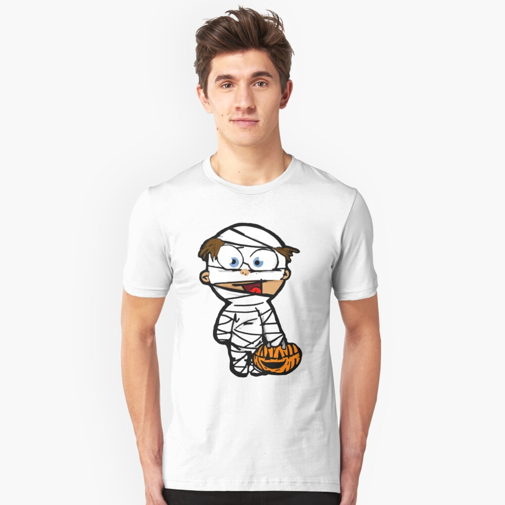 Trick or Treat Kid Unisex T-Shirt Front