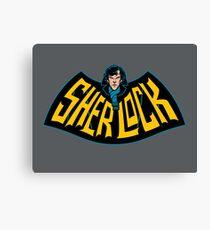 Sherlock Logo Canvas Print