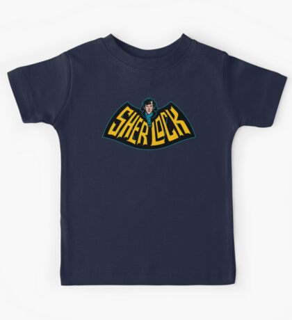 Sherlock Logo Kids Clothes