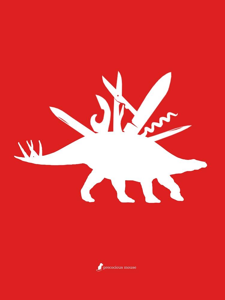 Swissarmysaurus by precociousmouse
