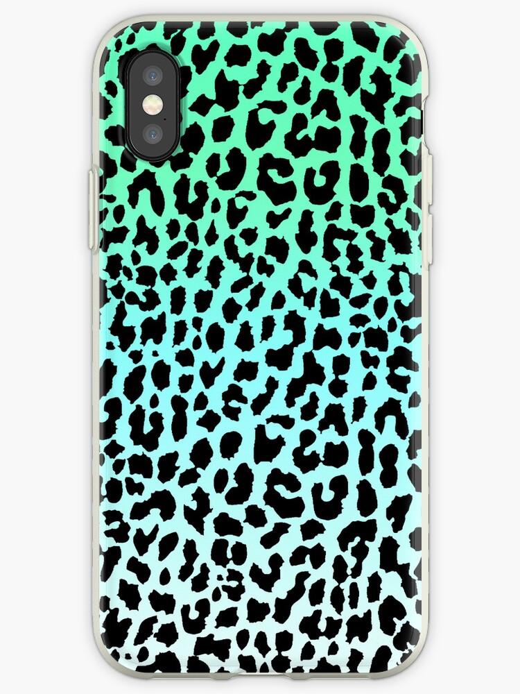 Cool Leopard by Mango Tangerine Studio