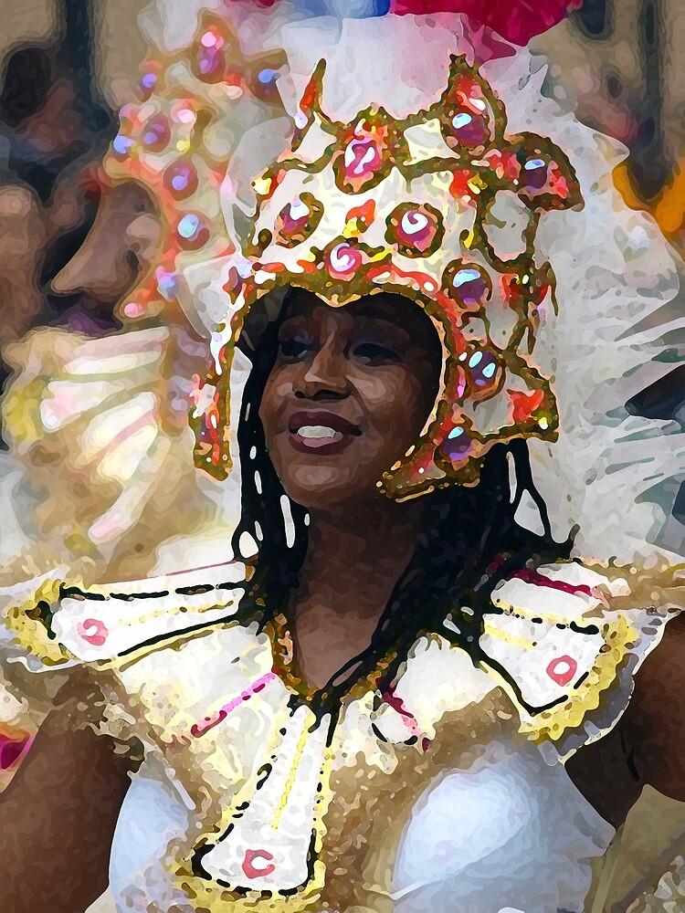 Carnival Girl by Jeremy   Trickett.