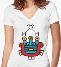 Atl H2O Women's Fitted V-Neck T-Shirt