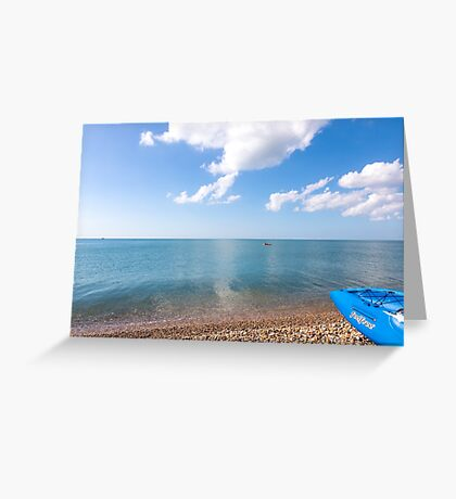 Mirror like seas Greeting Card