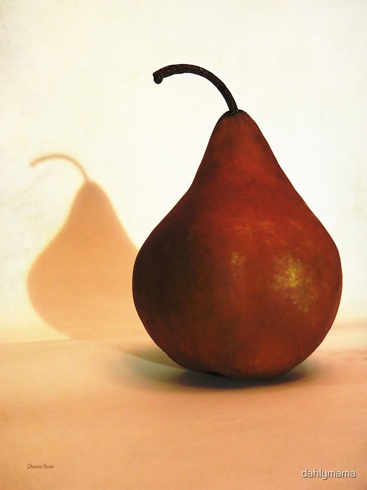 Bosc Pear Sees Its Shadow by Shawna Rowe