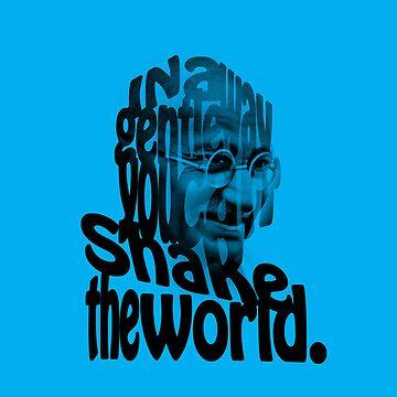 Gently Shake the World - Blue Cases by JOEasterlingII