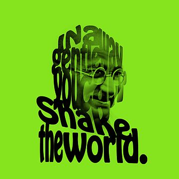 Gently Shake the World - Green Cases by JOEasterlingII