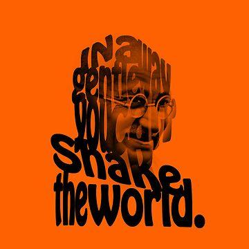 Gently Shake the World - Orange Cases by JOEasterlingII