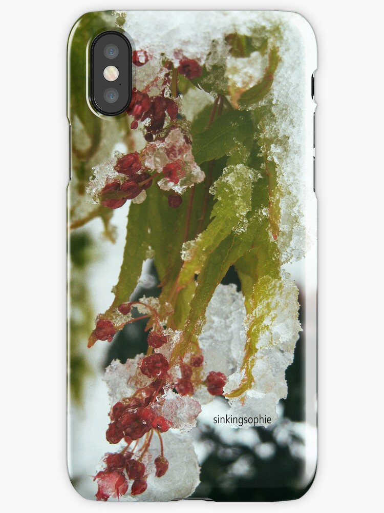 Winter Wonder Phone Case by sinkingsophie